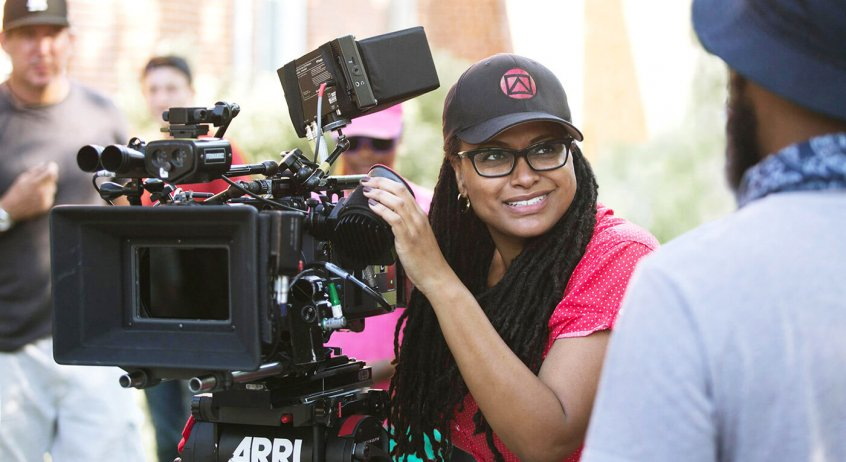 ava duvernay with camera
