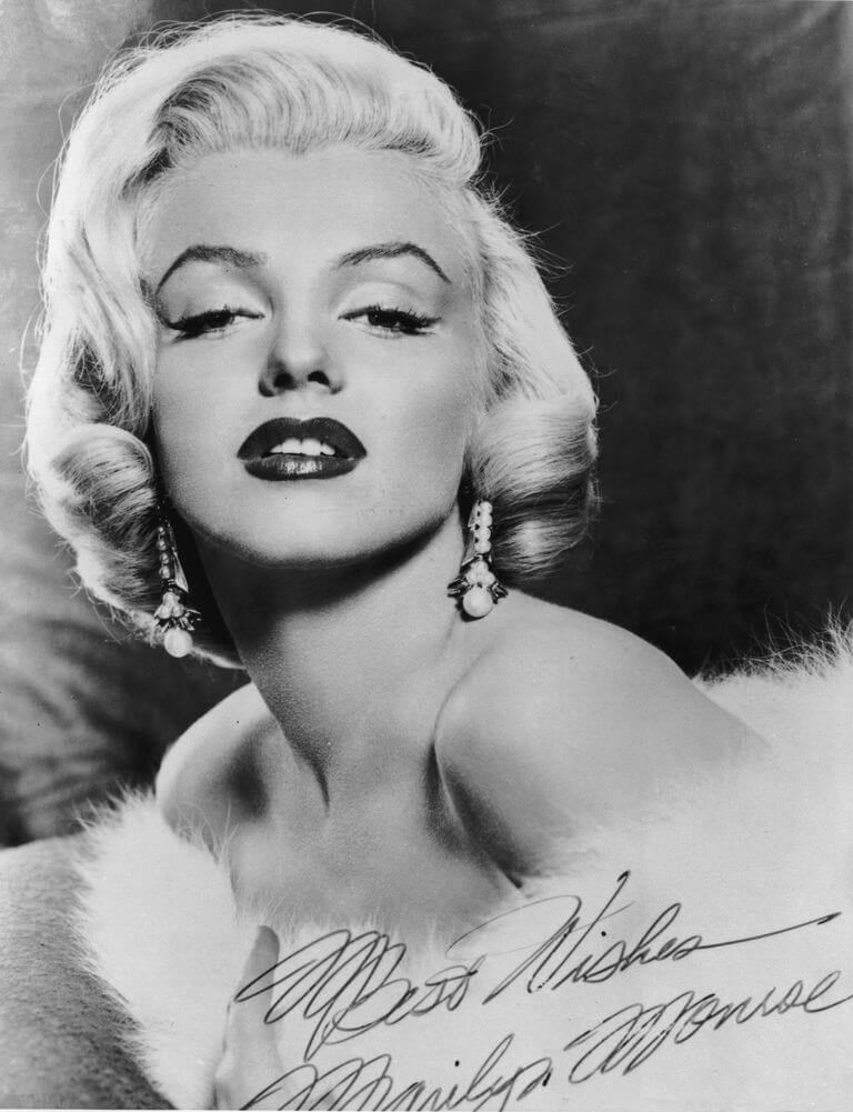 marilyn monroe headshot